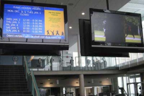 University of Toronto Digital Signage