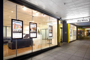 Digital Visual Merchandising on a Store Front